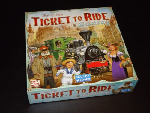 Ticket to Ride Germany - Box