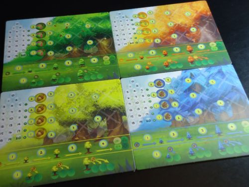 Photosynthesis - Player Boards