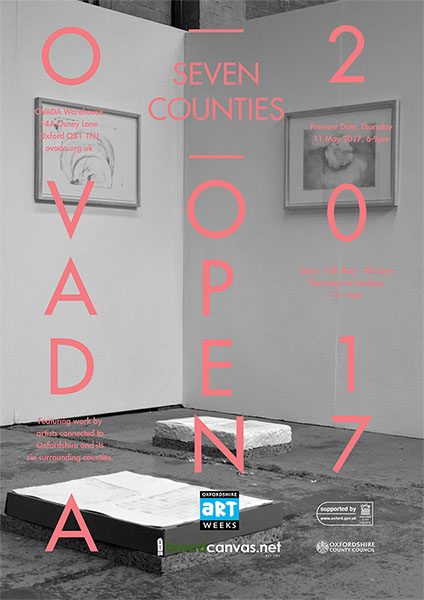 Exhibition Poster for OVADA