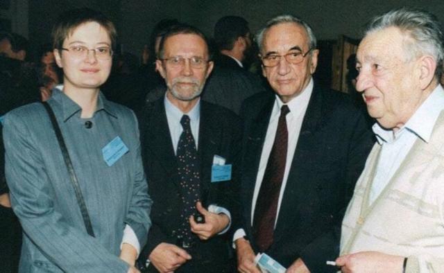 Katarzyna Lubnauer, Bronisław Geremek, Tadeusz Mazowiecki, Marek Edelman