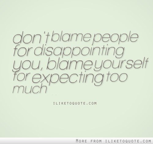 Disappointing Quotes Friends About You