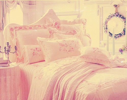 Bed Bedroom Comfy Cute Decoration Dream Home Sweet