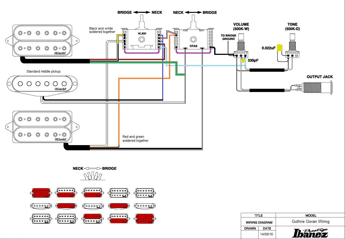 Stupendous Prestige Ibanez Hsh Wiring Diagram Basic Electronics Wiring Diagram Wiring 101 Capemaxxcnl
