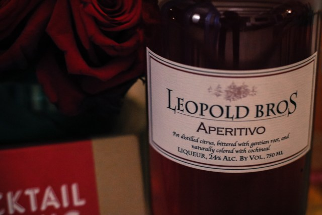 Leopold Bros' Aperitivo is the natural alternative to Campari. Instead of coloring agents, Leopold Bros. derives its red hue from cochineal aka a crushed beetle. It also keeps glycol and glycerin out of its spirits, instead going for a lighter mouthfeel but a more pronounced flavor.