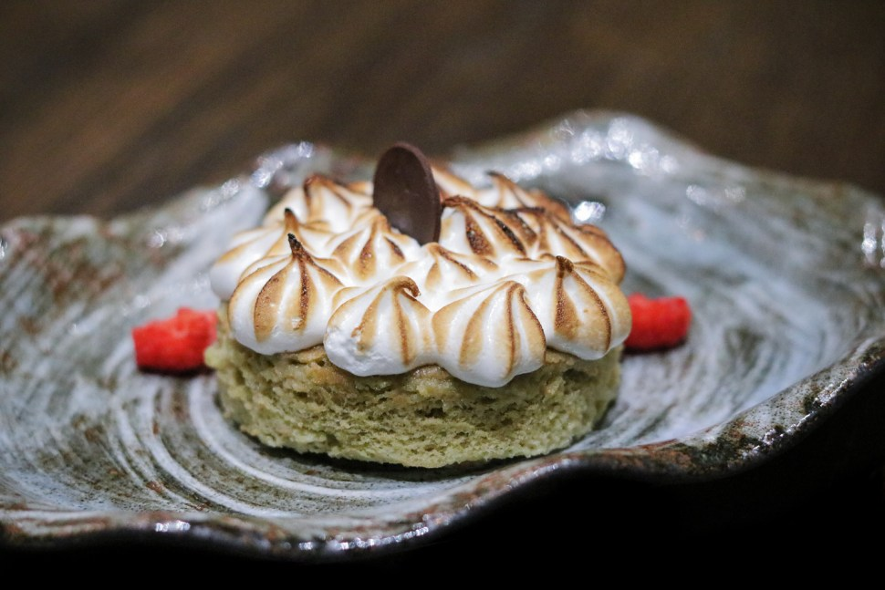 Four Leches Green Tea Cake