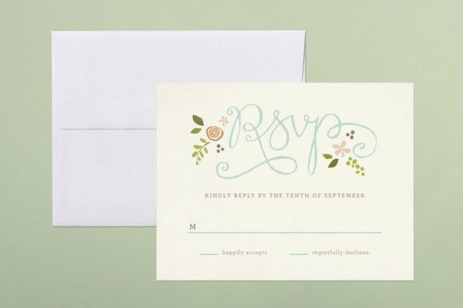 Wedding Rsvp Wording How To Uniquely Word Your