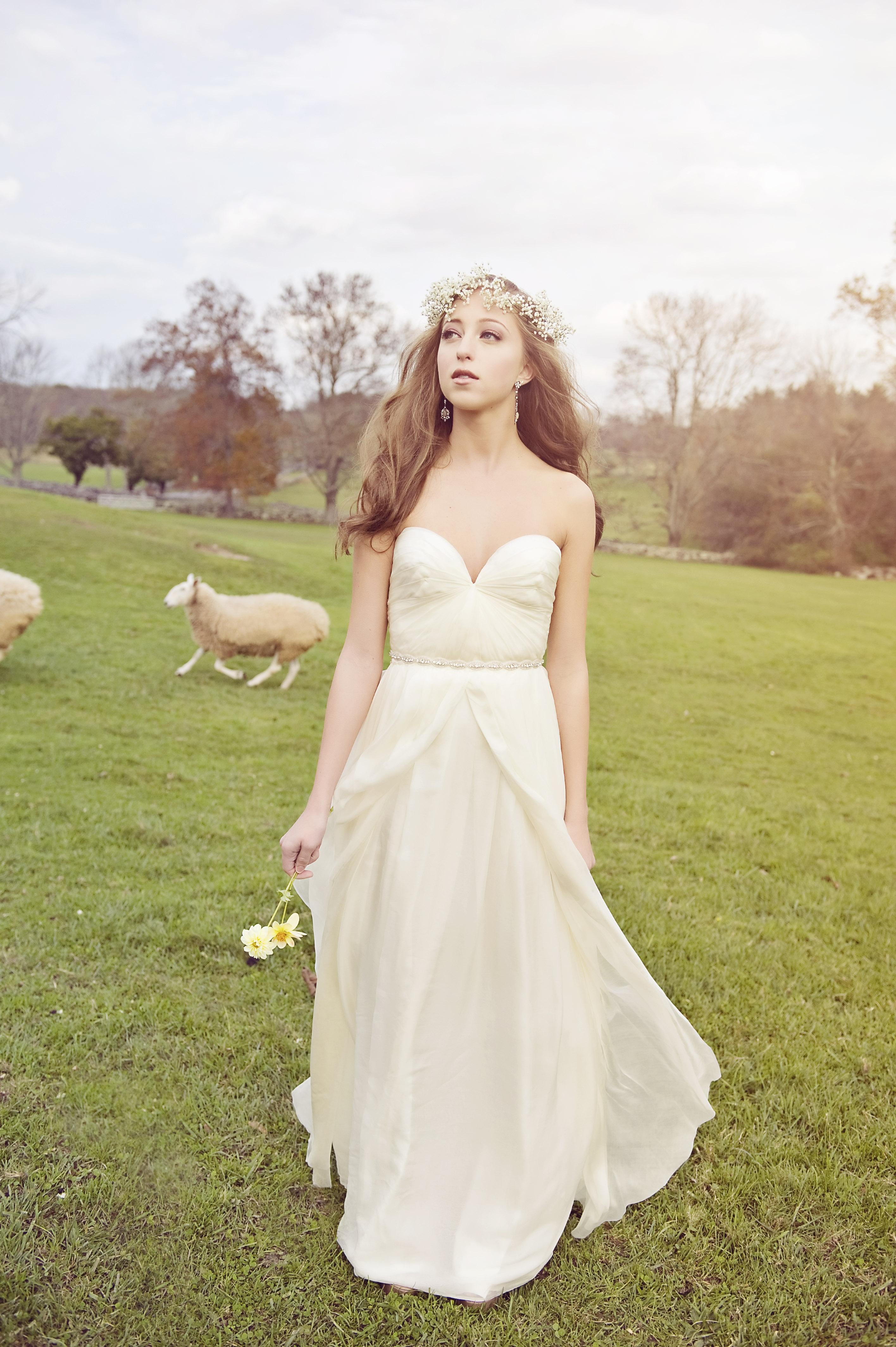 Wedding Dresses For A Farm Wedding