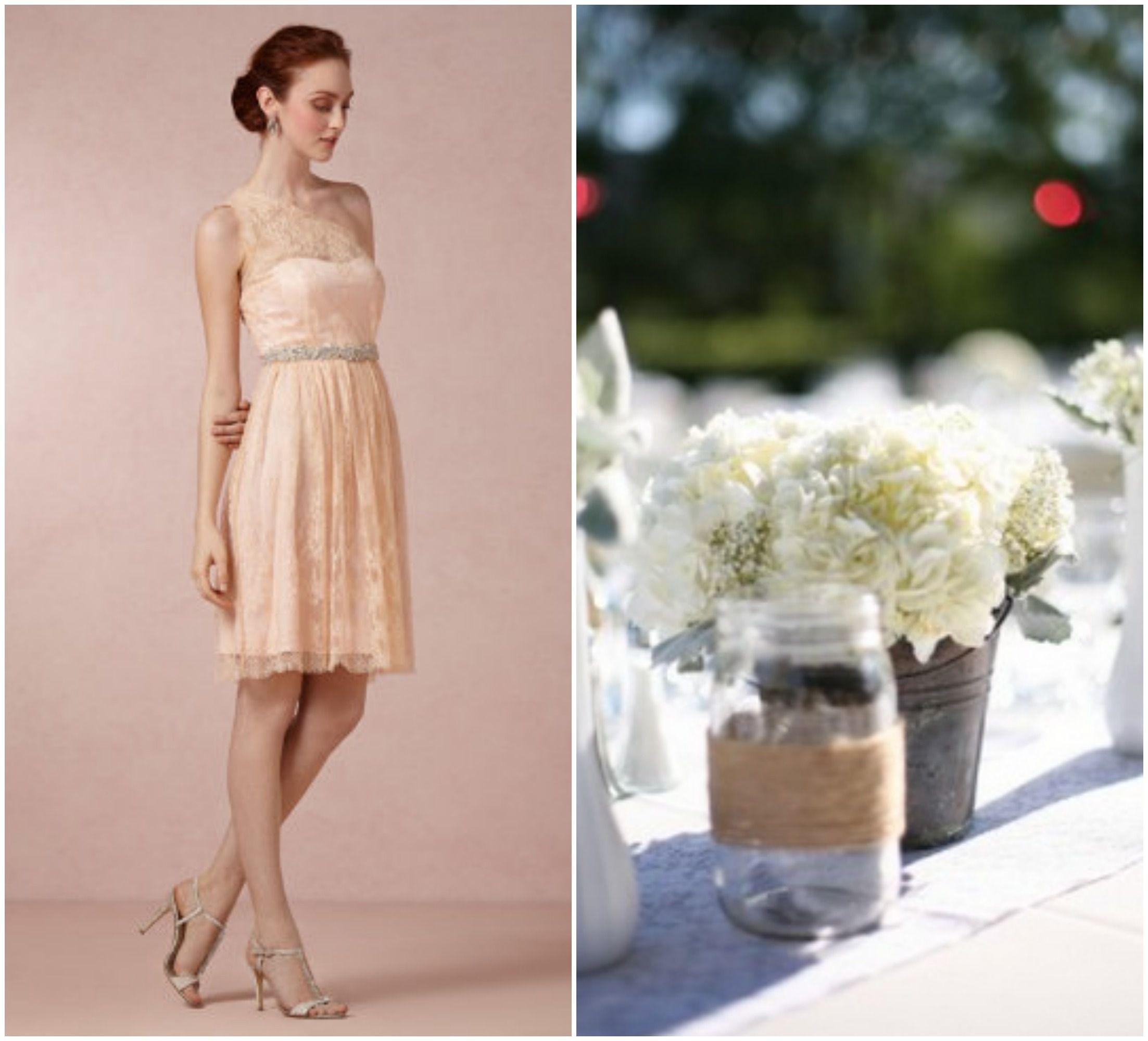 Garden Wedding Bridesmaid Dresses Rustic Wedding Chic