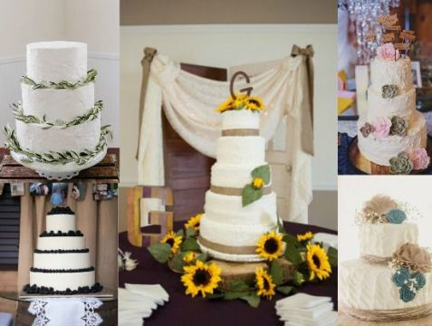 Country Wedding Cake Ideas   Rustic Wedding Chic Country Wedding Cake Ideas