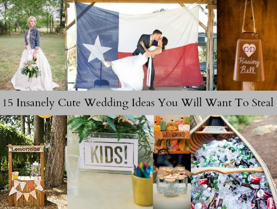 15 Insanely Cute Wedding Ideas You Will Want To Steal