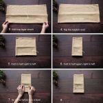 Ways To Fold A Napkin Rustic Wedding Chic
