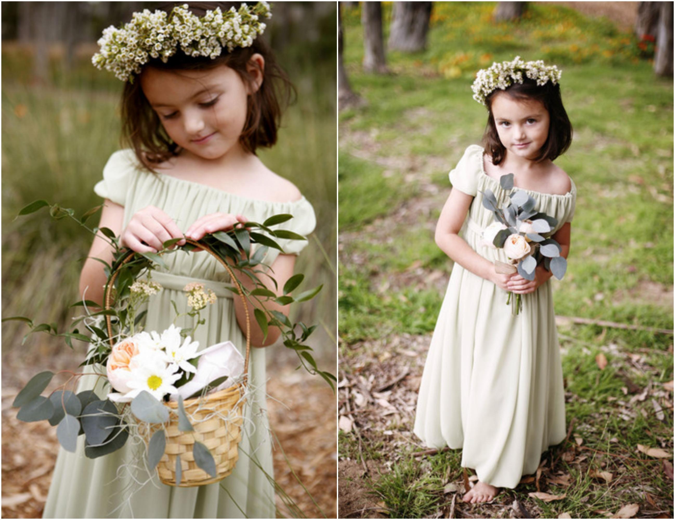 Preppy Flower Girl Dresses