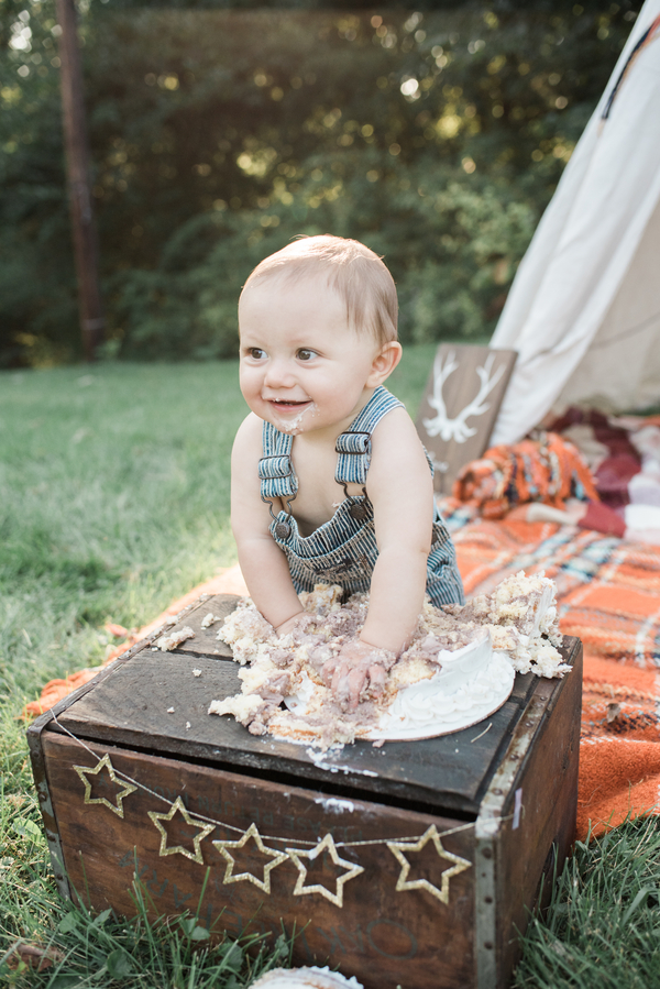 Rustic Smash The Cake Session Rustic Baby Chic