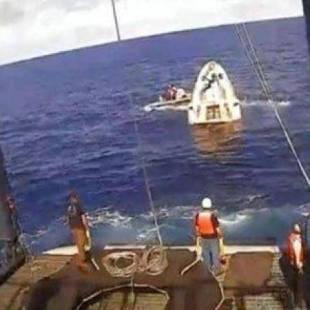 """""""سبيس إكس"""" تطلق 60 قمرًا صناعيًا لتزويد الأرض بإنترنت فائق السرعة"""