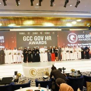 """""""الخدمة المدنية"""" تحقق جائزة الإبداع في قمة الموارد البشرية الحكومية بدول مجلس التعاون الخليجي"""