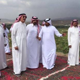 أمير منطقة جازان يتفقد مركزي الحقو والفطيحة بمحافظة بيش