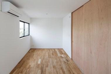 2階子供室 家具で分割して使う。