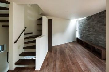 リビング+階段