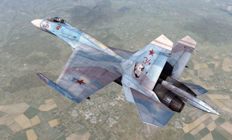Su-27 X-man