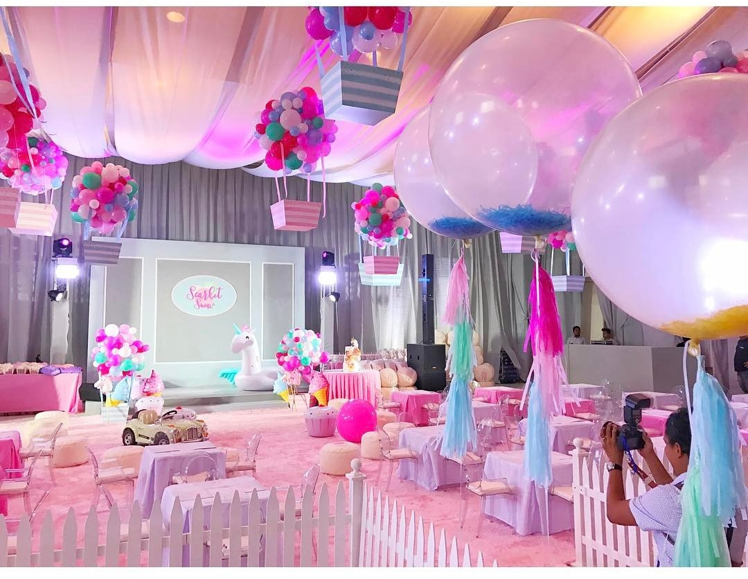 LOOK Scarlet Snows 2nd Birthday Party ABS CBN News