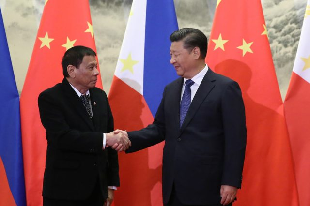 Image result for duterte and china
