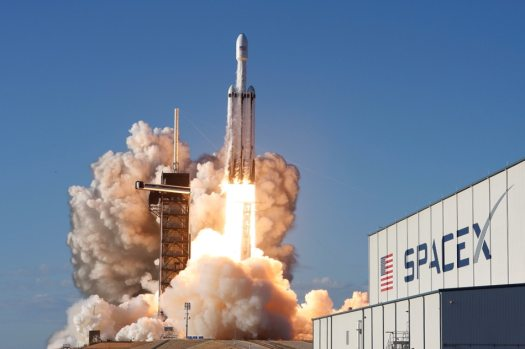 Elon Musk's SpaceX sends world's most powerful rocket on ...