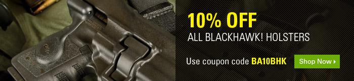10% off ALL BlackHawk Holsters
