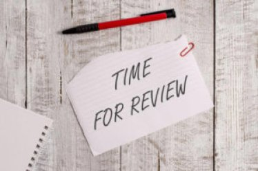 Time for a review. Overcome your fear of criticism a testing day