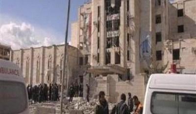 النظام وراء تفجير حلب
