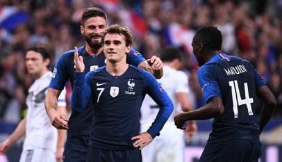 فرنسا تقلب الطاولة على ألمانيا بفوز مثير في دوري الأمم الأوروبية