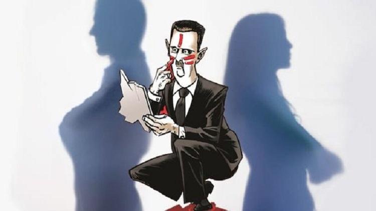 جلسات الجنس الجماعي لبشار الأسد