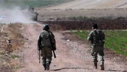 مواجهة عسكرية مع تركيا شمالي سوريا