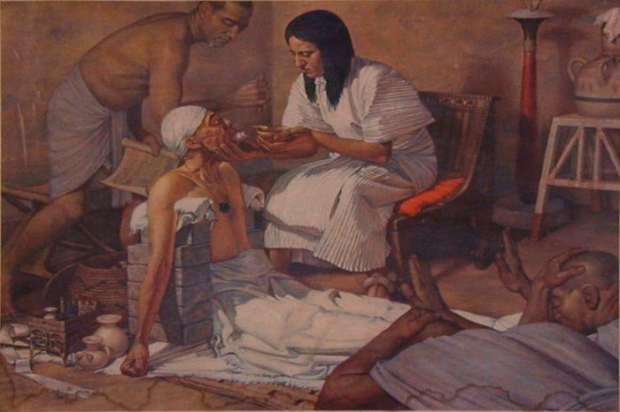 مرت بتاح أول سيدة فرعونية تمارس الطب فى التاريخ 1