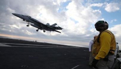 غارات امريكية علي مواقع لتنظيم داعش في ليبيا 1