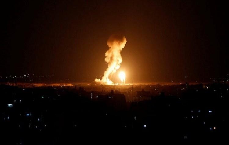 جيش الاحتلال يقصف مواقع لكتائب القسام في غزة