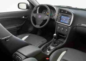 Saab 9-3 polideportivo interior de Griffin