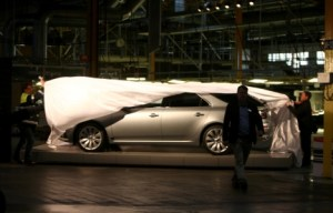 Der neue Saab 9-5 Sportkombi wird enthüllt