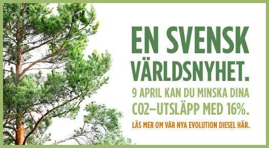 Evolución verde de suecia