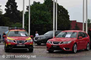 Saab 9-3 serviço de resgate, desempenho de veado Saab 9-3