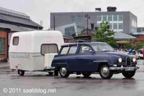 Saab 95 com Saabo.