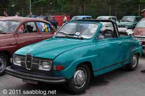 Saab 96 Cabriolet, Marke Eigenbau