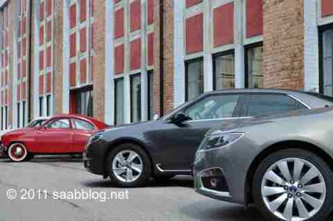 Reunião geracional Saab