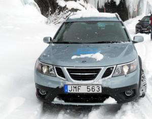Saab 9-3X, vierwielige bekwaamheid van Trollhättan
