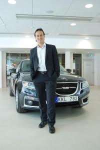 Tjänstebilsfakta está testando o novo Saab 9-5 Sport Combi