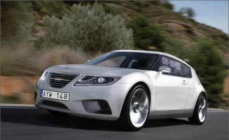So könnte er aussehen: Saab 9-2 für 2014