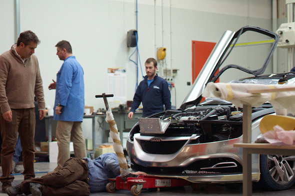 "Making of: Saab PhoeniX Concept Car, Bilder exklusiv ""Car Magazine"""