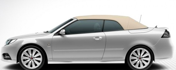 9-3 Griffin convertible top in beige