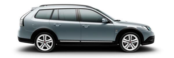Saab 9-3x Гриффин, сплавные колеса 7,5x18 Alu73