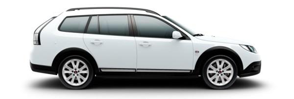 Saab 9 3x Griffin Arctique Blanc