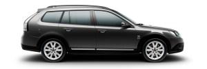 Saab 9-3x-Griffin Carbongrau Metallic